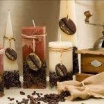 Кофемолка на столе