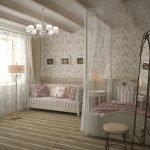 Уютный декор комнаты