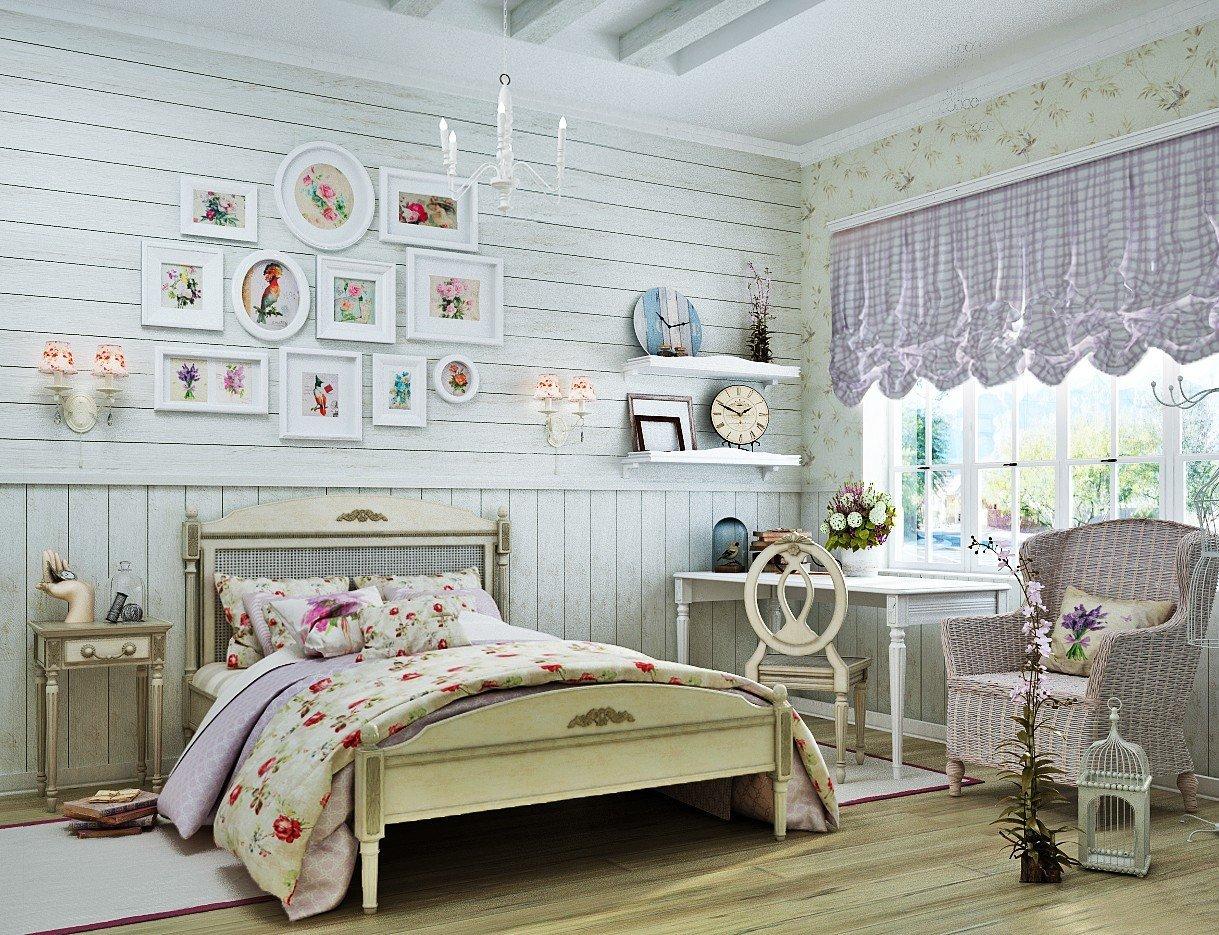 комната в стиле прованс своими руками фото большинстве