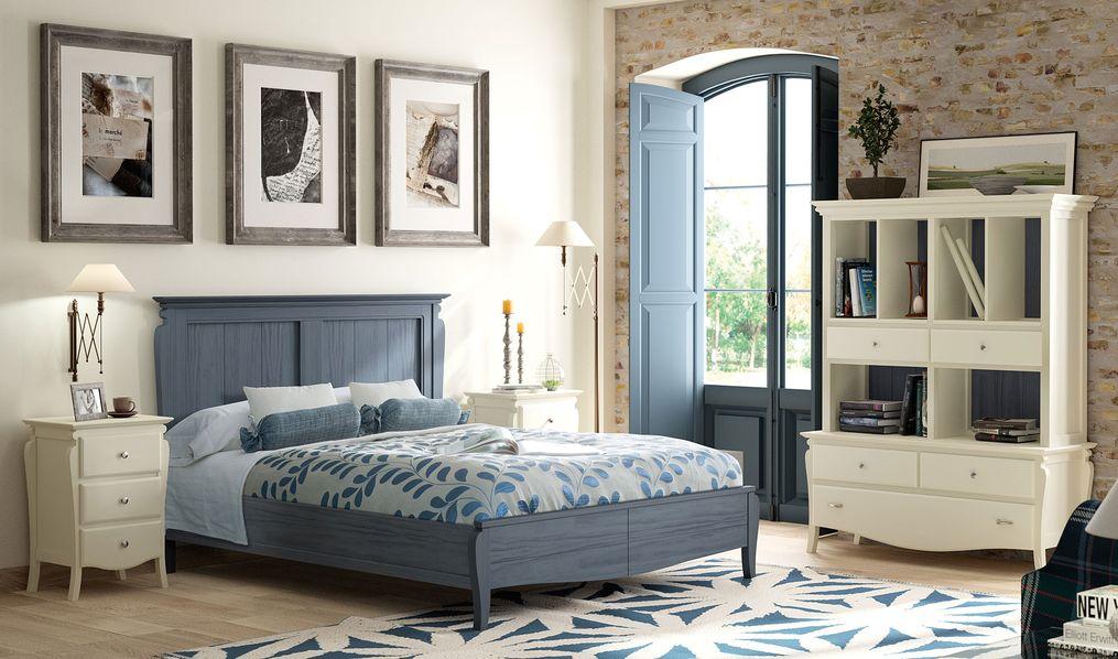 Супружеская спальня в стиле винтаж