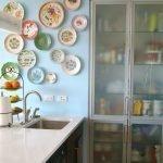 Керамика в интерьере кухни
