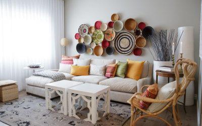 Украшаем стены декоративными тарелками +75 фото