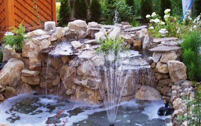 Декоративный водопад: примеры и изготовление своими руками