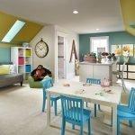 Большая детская комната