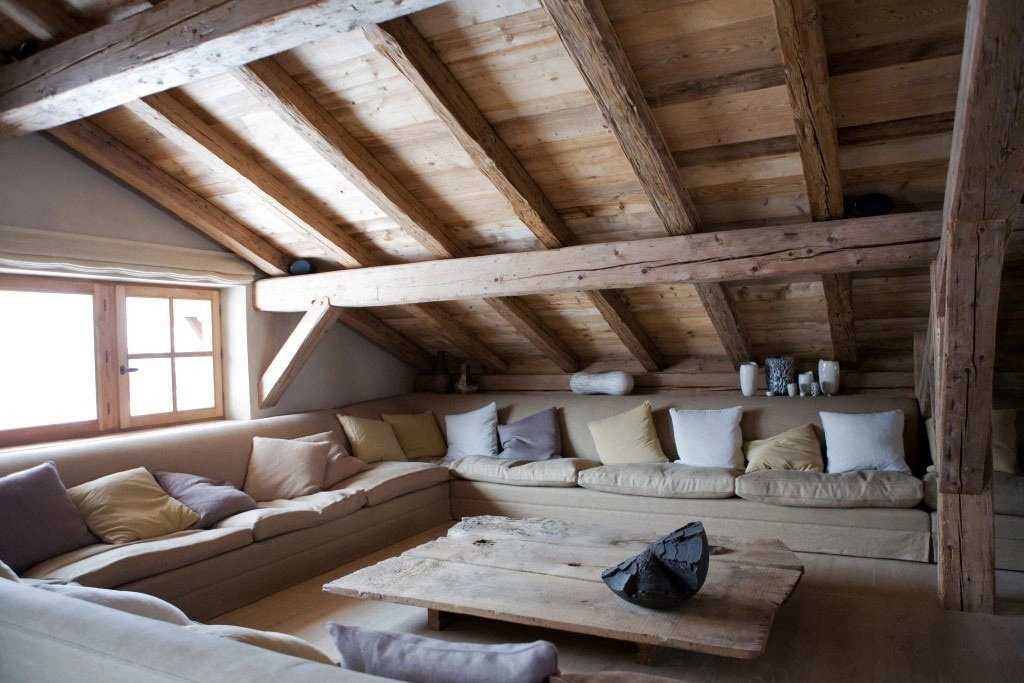 Natural light in the attic