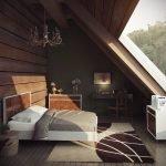 Мебель с одинаковым дизайном в спальне