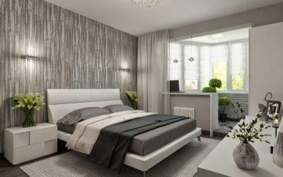 Дизайн современной комнаты с лоджией +50 фото объединенных интерьеров
