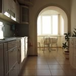 Арка в кухне