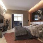 Эффектный декор спальни