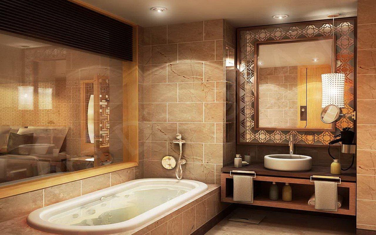 Восточный декор ванной комнаты