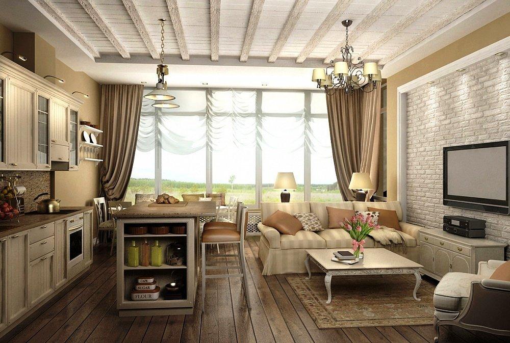 Классическое обрамление комнаты