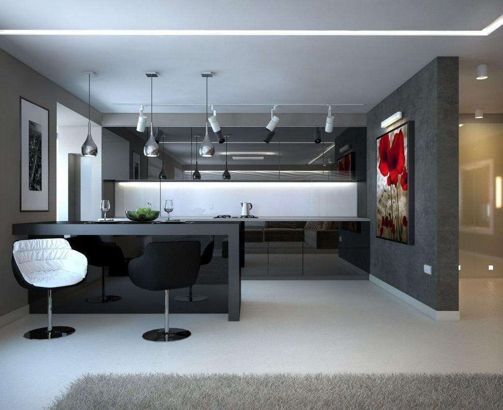 яркие, студио кухни с фото хай тек хитачи усилители ресиверы