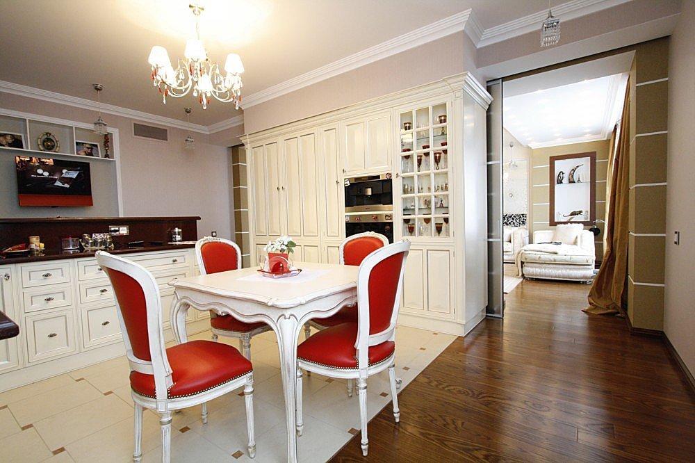 Кухня в стиле ар нуво в квартире