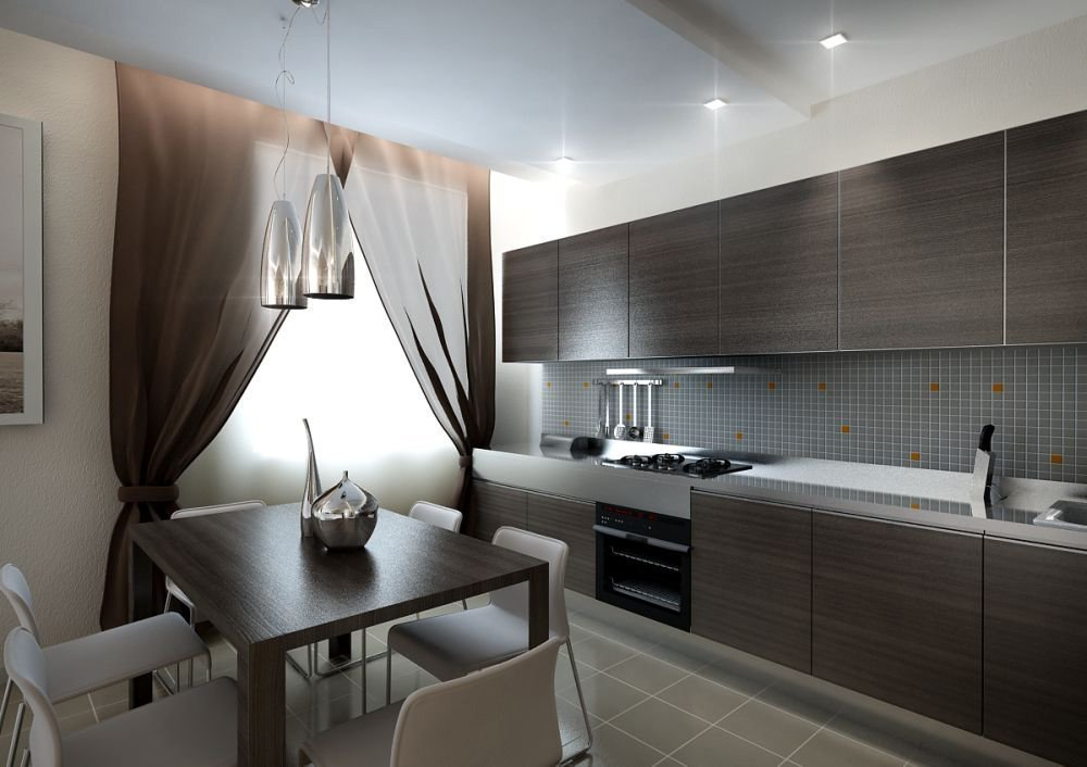Текстиль на кухне в квартире
