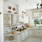 Кухня в стиле прованс в квартире