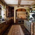 Кухня с островной планировкой