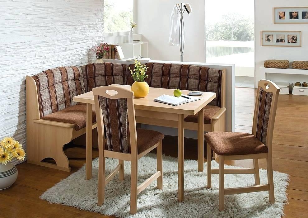 Мебель кухонного уголка в интерьере