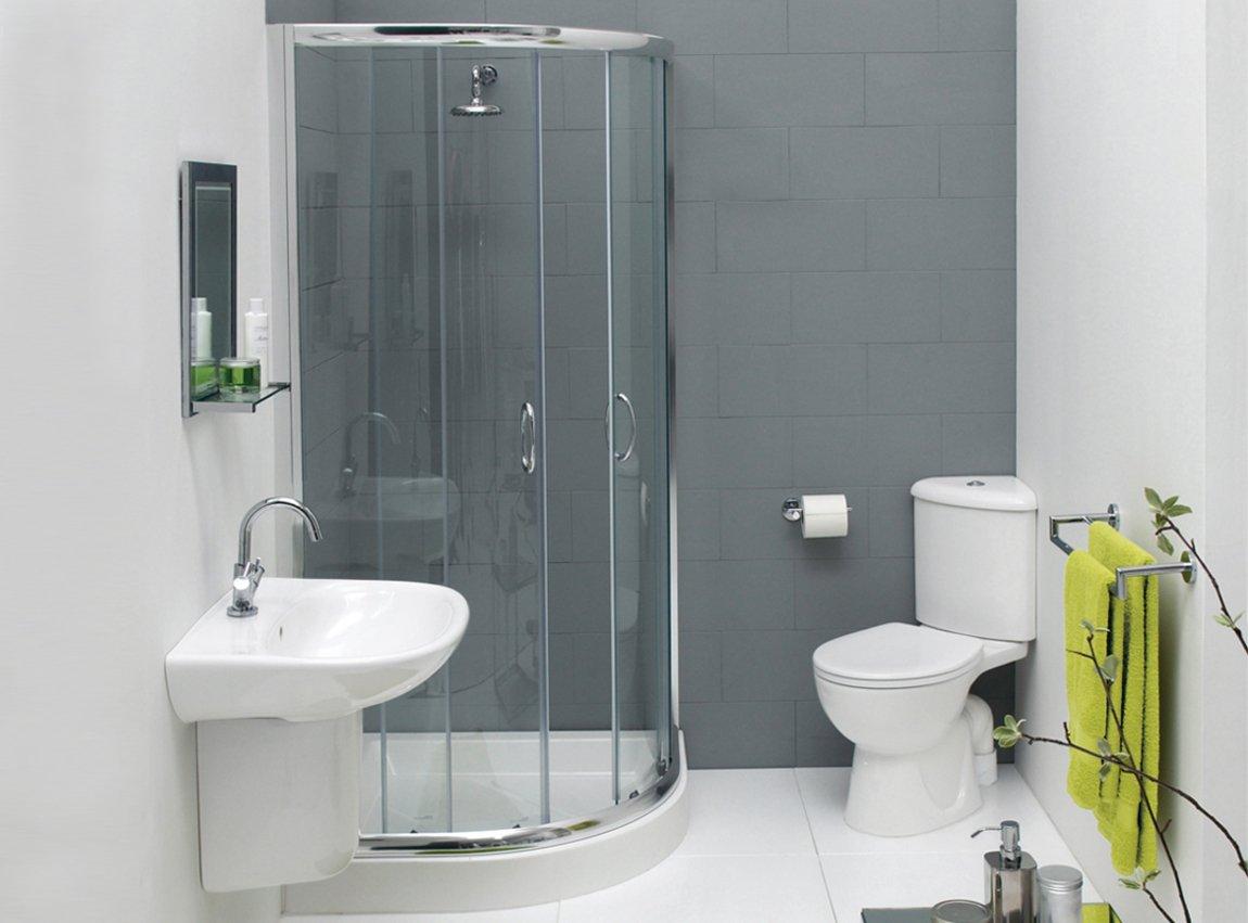 Душевая кабина в малогабаритной ванной