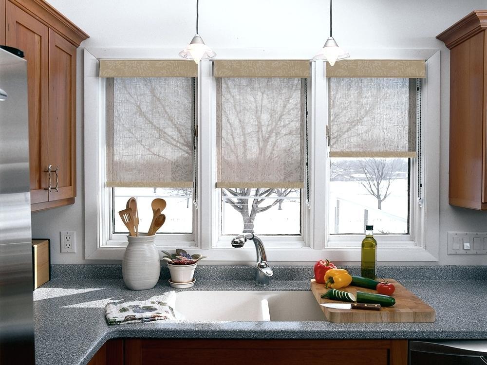 Окна в интерьере кухни