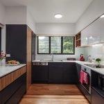 Кухня с П-образной планировкой