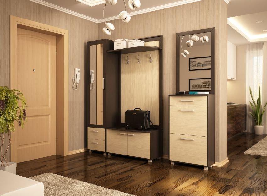 Классический интерьер прихожей в квартире