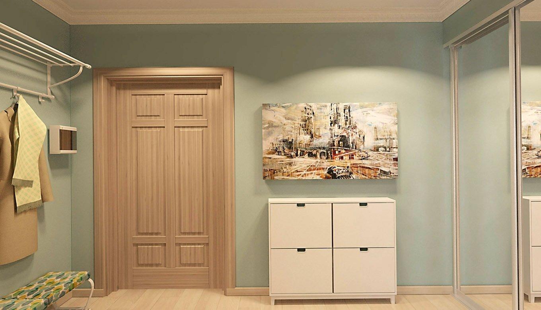 Классический декор прихожей в квартире