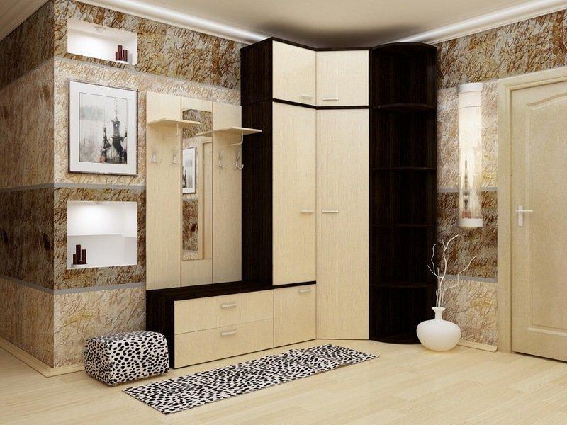 Корпусная мебель в прихожей