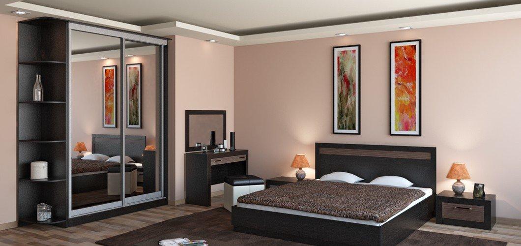 Современный декор спальни