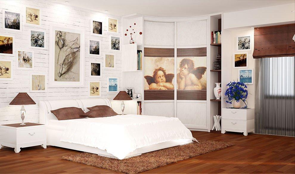 Стильный интерьер спальни