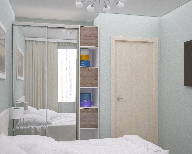 шкаф купе в спальню дизайн на 75 фото