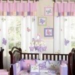 Декор комнаты для новорожденной девочки