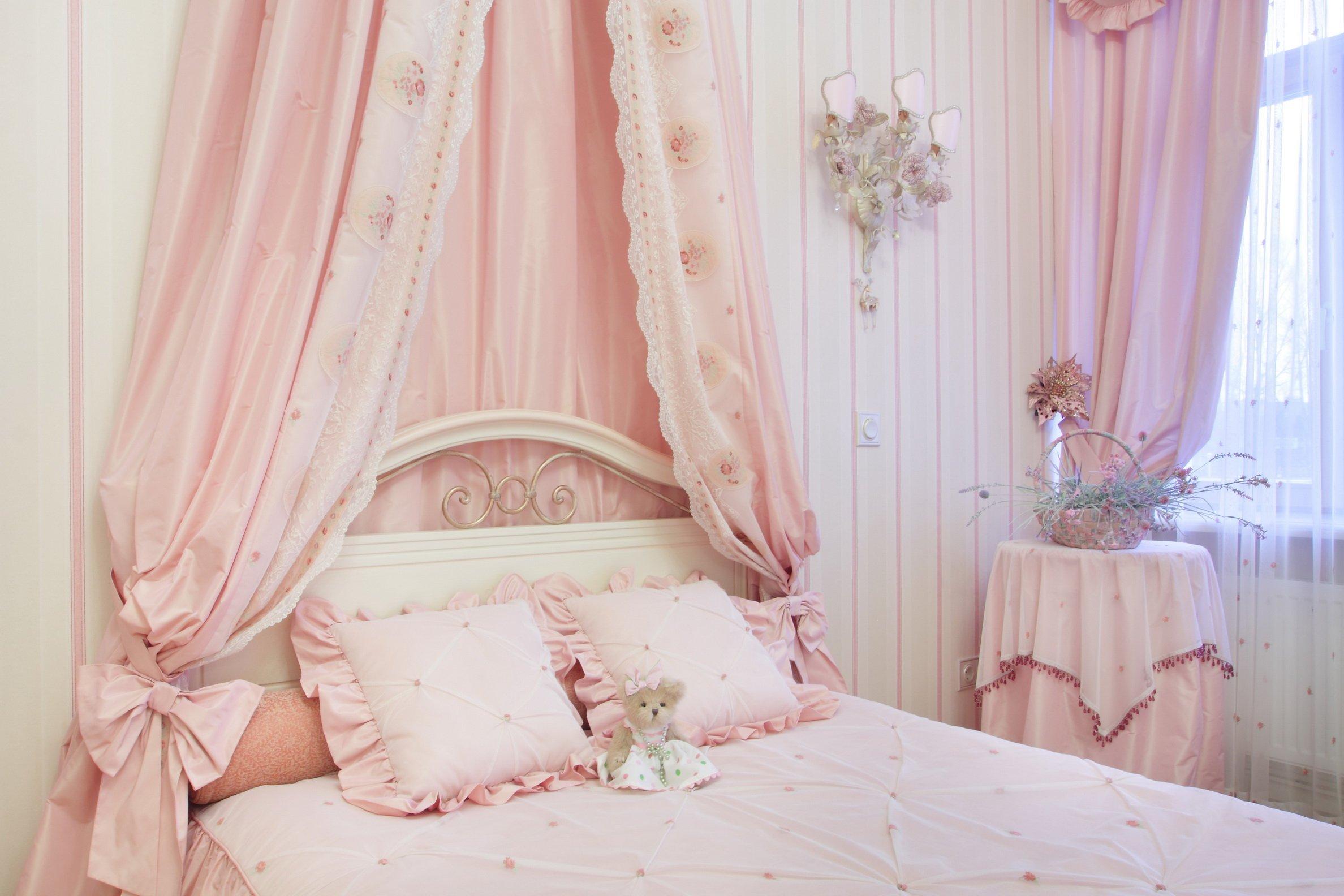 служба занавески в розовую спальню фото вам предстоит