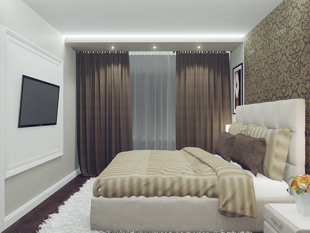 дизайн спальни в хрущевке 75 фото интерьера для маленькой и узкой
