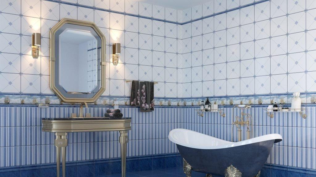 Дизайн ванны панелями