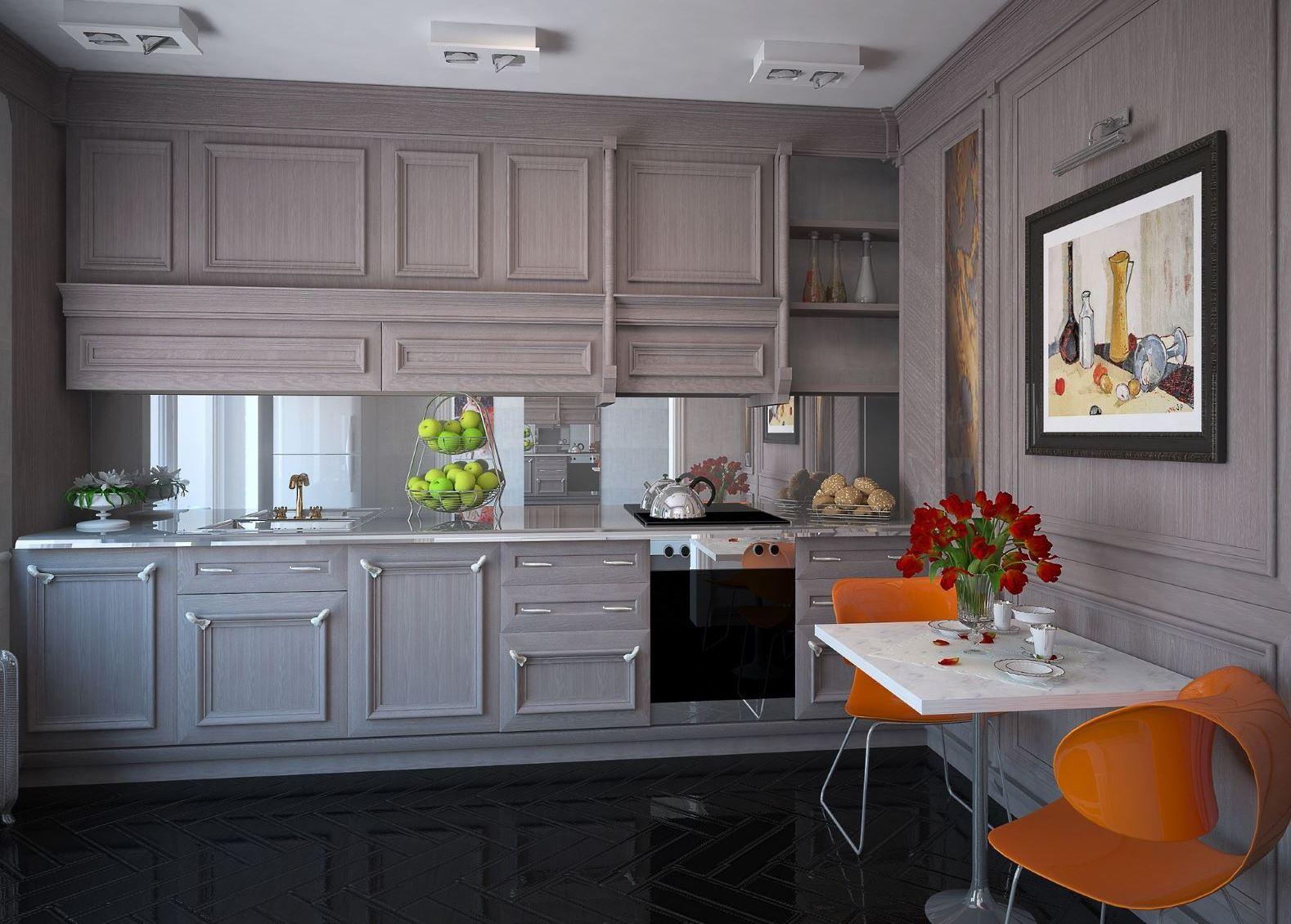 Полки настенные для кухни фото интересный дизайн