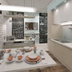 Яркие картины на кухне