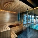Glass Wall Steam Room