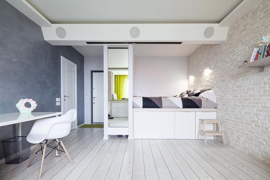 Белый декор комнаты