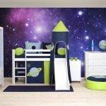 Комната для ребенка в стиле космоса