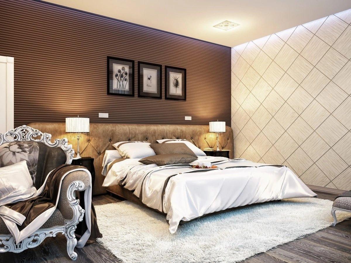 делаем неполную шоколадная спальня с белой мебелью фото концовке боя алистар
