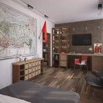 Спальня в стиле СССР