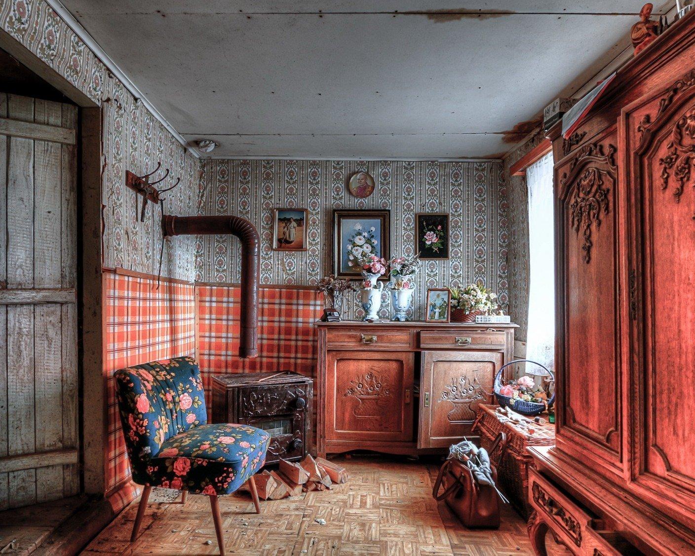 Ретро дизайн комнаты картинки