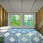 Маленькая спальня на мансарде