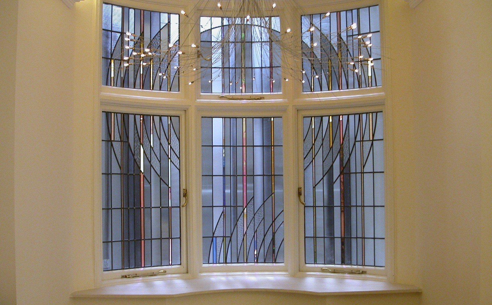 Современный дизайн окна
