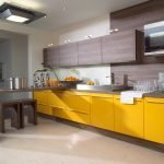 Венге в кухонном интерьере