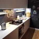 Кухня в простом декоре