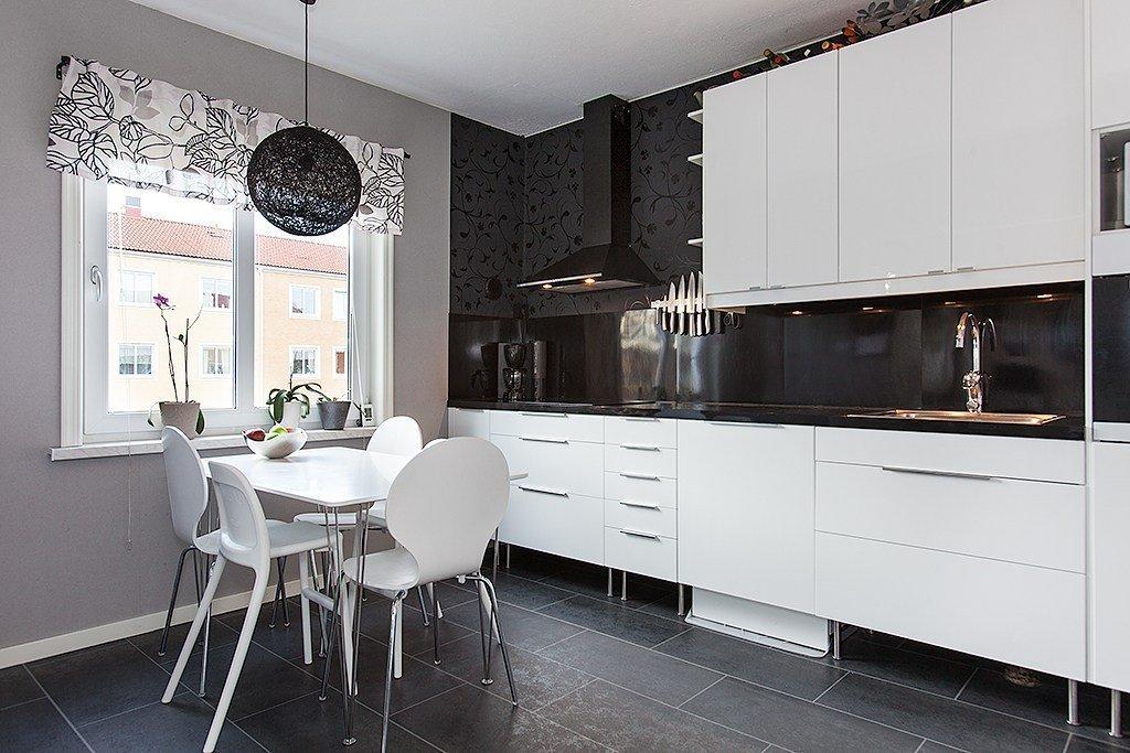 Классическая кухня в квартире