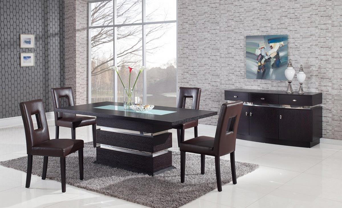 Интерьер с мебелью цветам венге