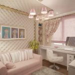 Романтичная спальня для подростка