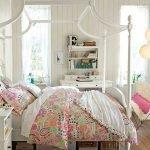 Металлическая детская кровать